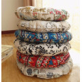 Home decor colorful floor round chair seat cushion pad
