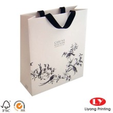 Paper and shopping bag with custom printing