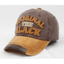 Online Manufacturer for Wash Cap,Wash Baseball Cap,Washed Denim Caps,Washed Fashional Caps Supplier in China Fabric Applique Patch Heavy Washing  Cotton Cap supply to United States Manufacturer