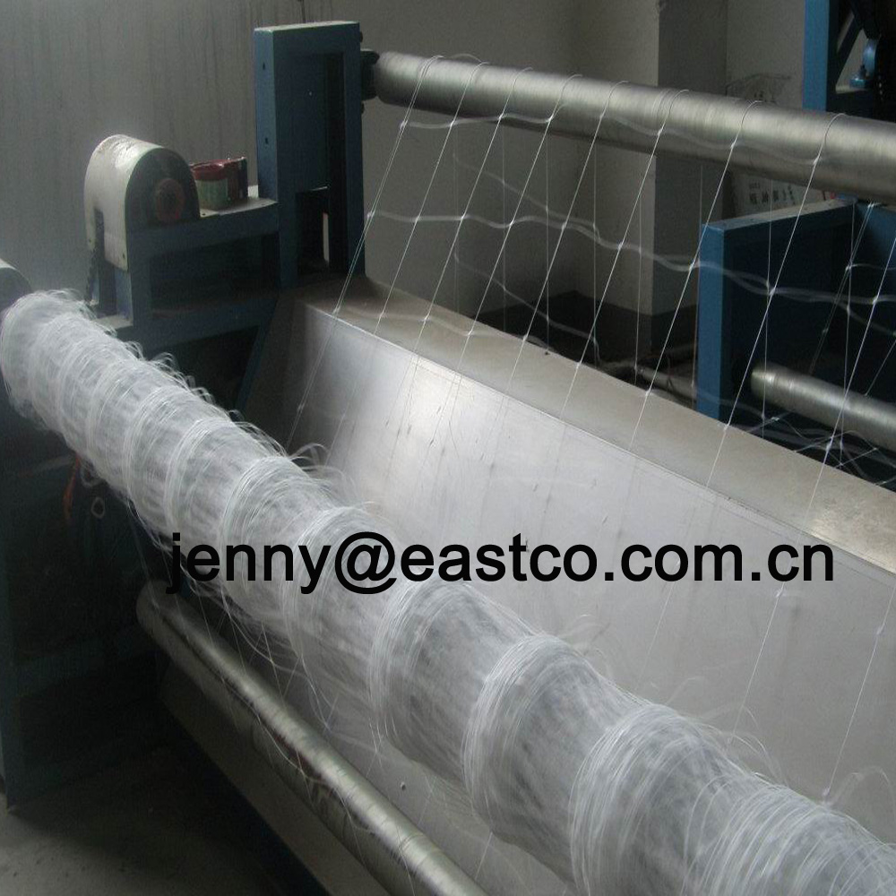 White Plant Support Netting