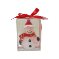 Party Christmas White Candle Decoration Gift Set