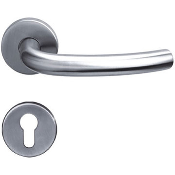 Stainless Steel Single Bend Tube Lever Handle