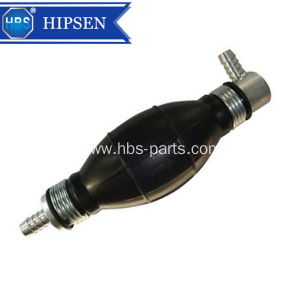 One Way 8mm Rubber Fuel Hand Primer Pump