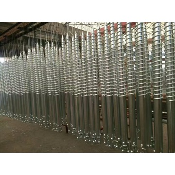HDG Ground Screw Production
