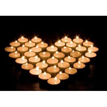 Full Paraffin Wax Tealight Candle Best Burning