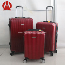 ABS carry-on travel trolley luggage set