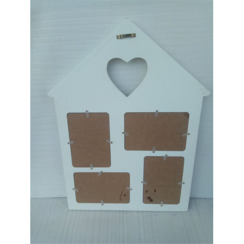 House Shape Wooden Picture Frame