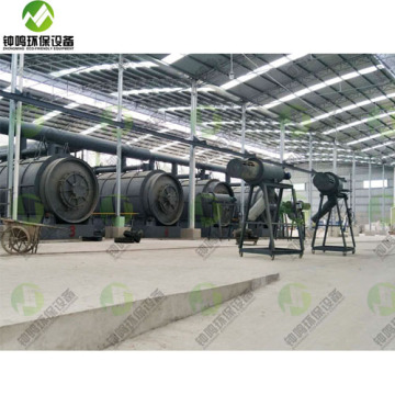 HIgh Efficiency Pyrolysis Process for Plastic Waste to Furnace Oil