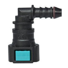 Conductive Quick Connector 9.49 (3/8) - ID6 90° SAE