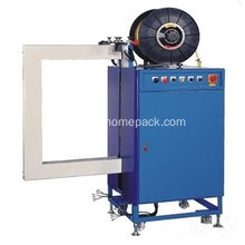 Factory making for Semi-Auto Strapping Machine Side strapping pallet strapping machine export to India Factory