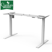 Hot sale for Single Motor Standing Desk Electric Adjustable Table Controller Executive Desk India export to French Southern Territories Factory