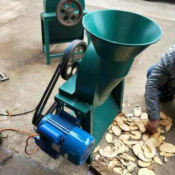 D-500 tapioca slicer cassava chips making machine