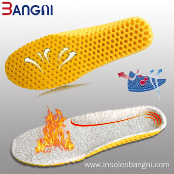 Keep Warm Heated Cashmere Thermal Insoles shoe pad