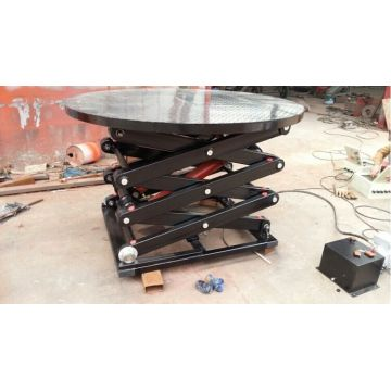 CE High Quality Revolving Car Display Stage Lift