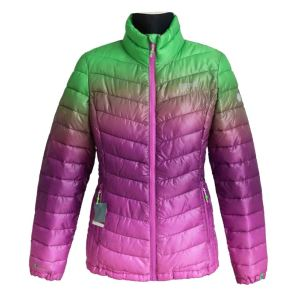 Factory Supply Factory price for China Light Down Touch Jacket,Women Light Down Touch Jacket,Winter Light Down Touch Jacket Supplier Ladies elegant colorful jacket supply to France Supplier