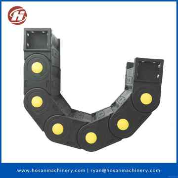 nylon cable chain carrier cable drag chain