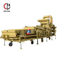 Grain Wheat Oil Seeds Vegetable Seeds Cleaning Mobile Combine Seed  cleaner machine