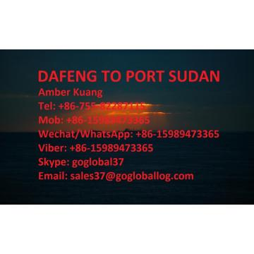 China for Ocean Freight To Africa Jiangsu Dafeng Sea Freight to Sudan Port Sudan export to Russian Federation Manufacturer