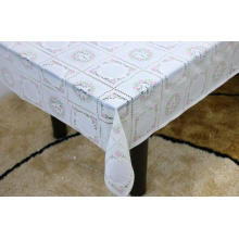 Printed pvc lace tablecloth by roll wedding