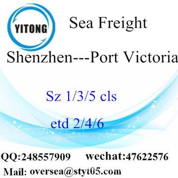 Shenzhen Port LCL Consolidation To Port Victoria