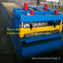 2017 new finished glazed tile roofing sheet machine