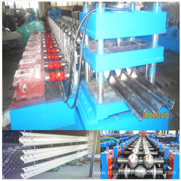 w beam profile roll forming line