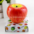 Christmas apple fruit scented shape candles