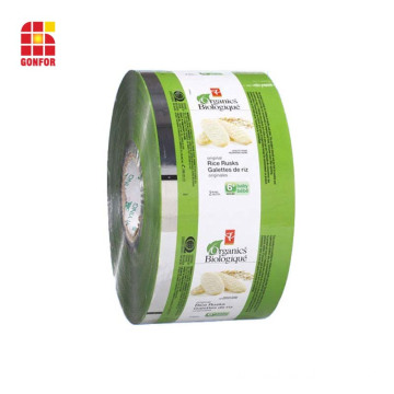 3 layers laminated packaging film for coffee