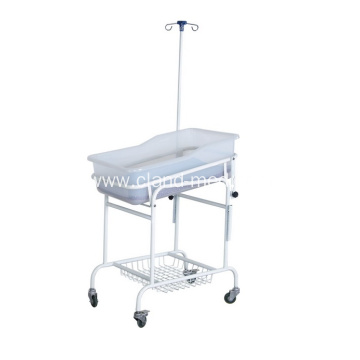 Low Price Spray Hospital Nursing Adjustable Baby Bed
