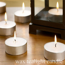 50pcs 3hour white pressed tea light candle