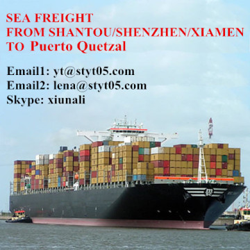 Ocean Freight Services From Shantou To Puerto Quetzal