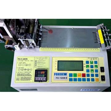 Automatic Bevel and Straight Ribbon Tape Cutting Machine