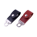 leather usb 2.0 memory stick flash pendrive