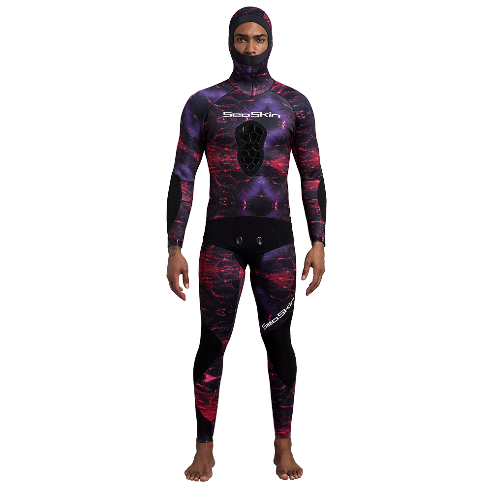 Seaskin Two Pieces Camo Wetsuit
