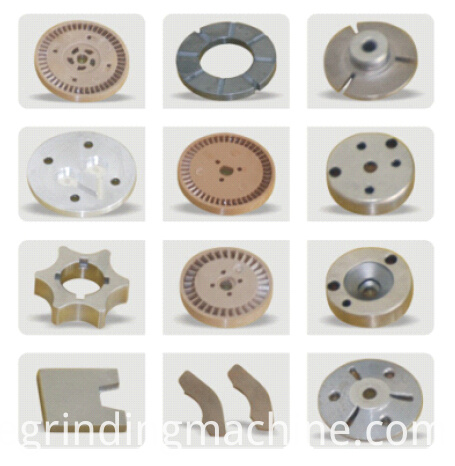 Pump parts surface grinding