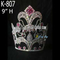 Colorful AB Stone 10 Inch Pageant Crown