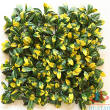 Custom Fashion Indoor Artificial Plant Flower Wall