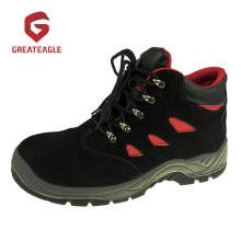 Steel Suede Leather Industrial Safety Shoes