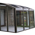 Retractable Patio Enclosure Glass House For Swimming Pool