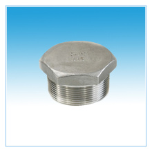 stainless steel fitting hex plug male thread