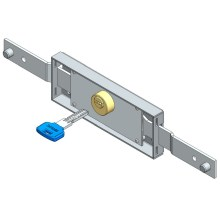 Big discounting for Roller Shutter Rolling Door Lock Central roller shutter lock computer key shifted bolt supply to France Exporter