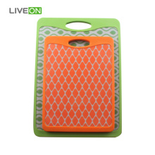2 pcs Plastic Cutting Board