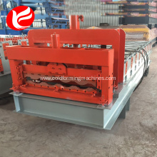 Automatic galvanized glazed roof tile roll formed machine