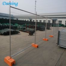 China OEM for Portable Fence Security Australia Temporary Construction Fence Panels with Plastic Base supply to France Manufacturers