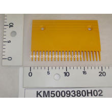 Yellow Plastic Comb Plate for KONE Escalators KM5009380H02