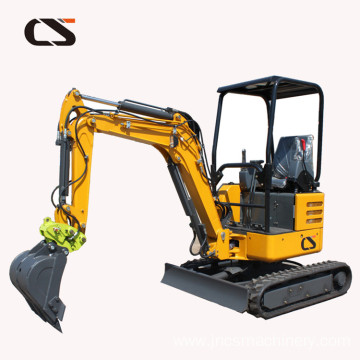 mini hydraulic excavator price 2.2/1.8Ton Turbo Engine