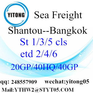 Shantou Forwarder Service to Bangkok