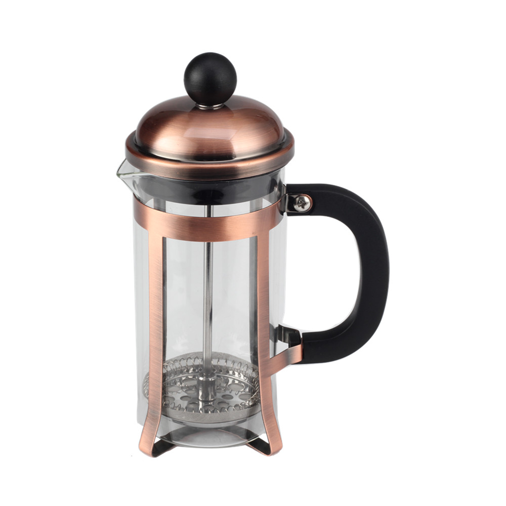 Iron Plating Glass French Press