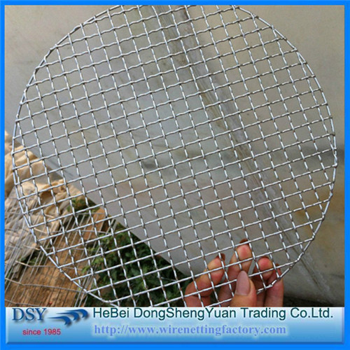 BBQ Grill Fish Grill Net with Handle