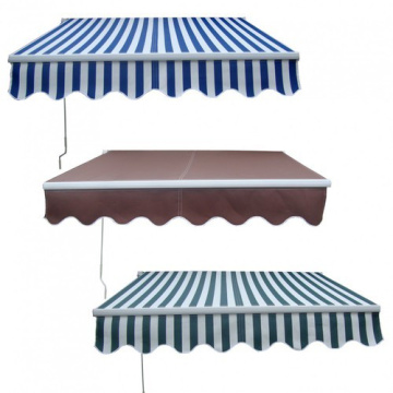 manual hand crank retractable awning